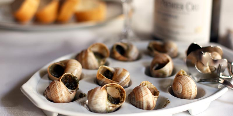 Restaurant escargots